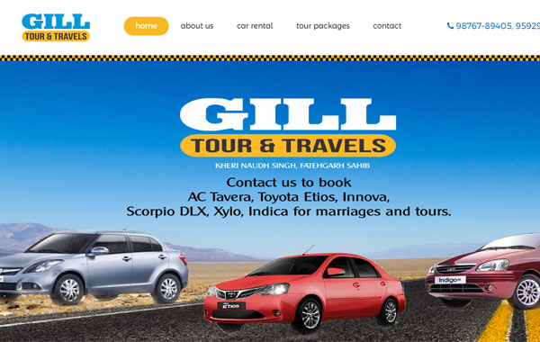 GILL TOUR AND TRAVELS